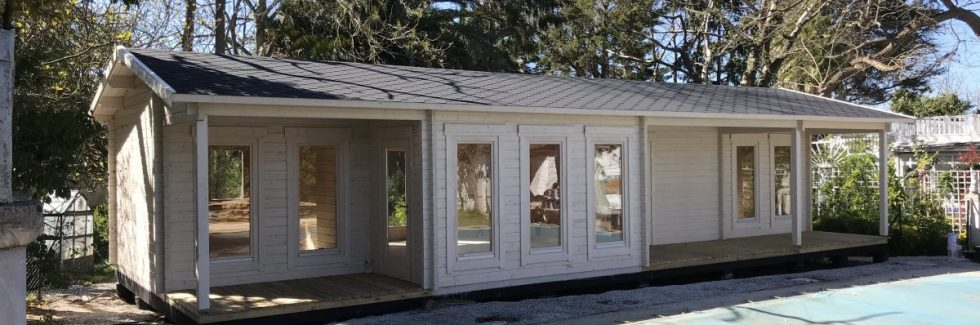 Maßgeschneidertes Ferienhaus mit zwei Schlafzimmern