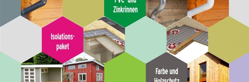Neue Extras für Blockhäuser und Gartenhäuser aus Holz