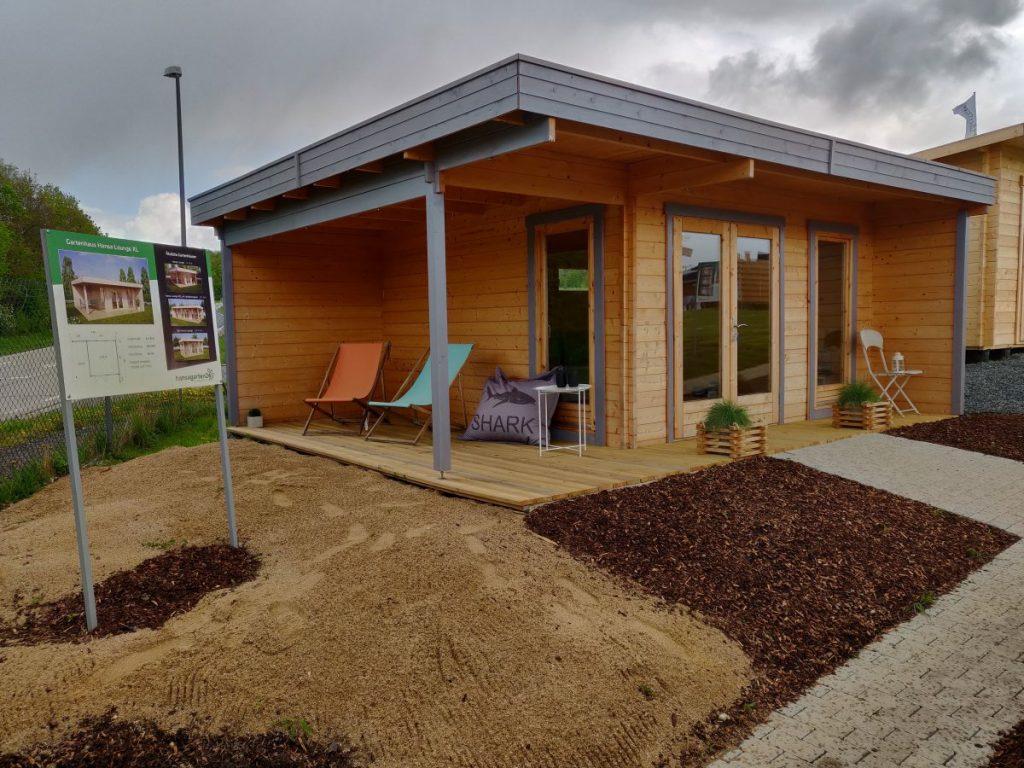 Holzhaus/Gartenhaus-Ausstellung
