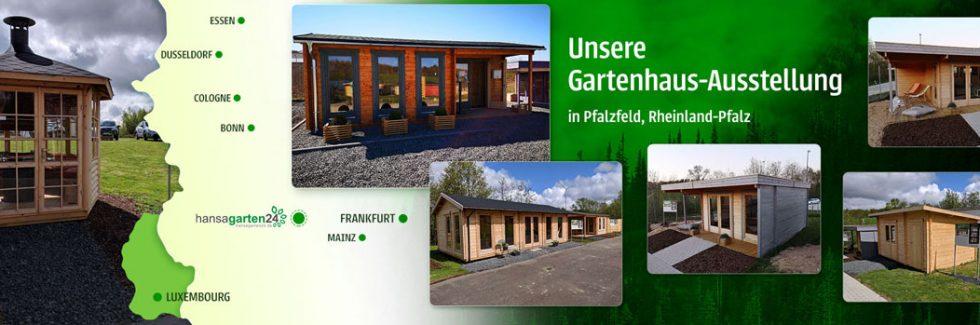 Hansagarten24 Gartenhaus-Ausstellung