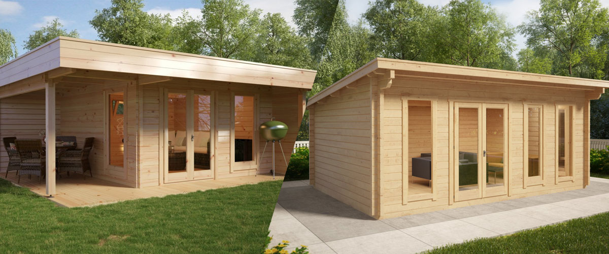 Ein kleines Gartenhaus – Ein großer Unterschied