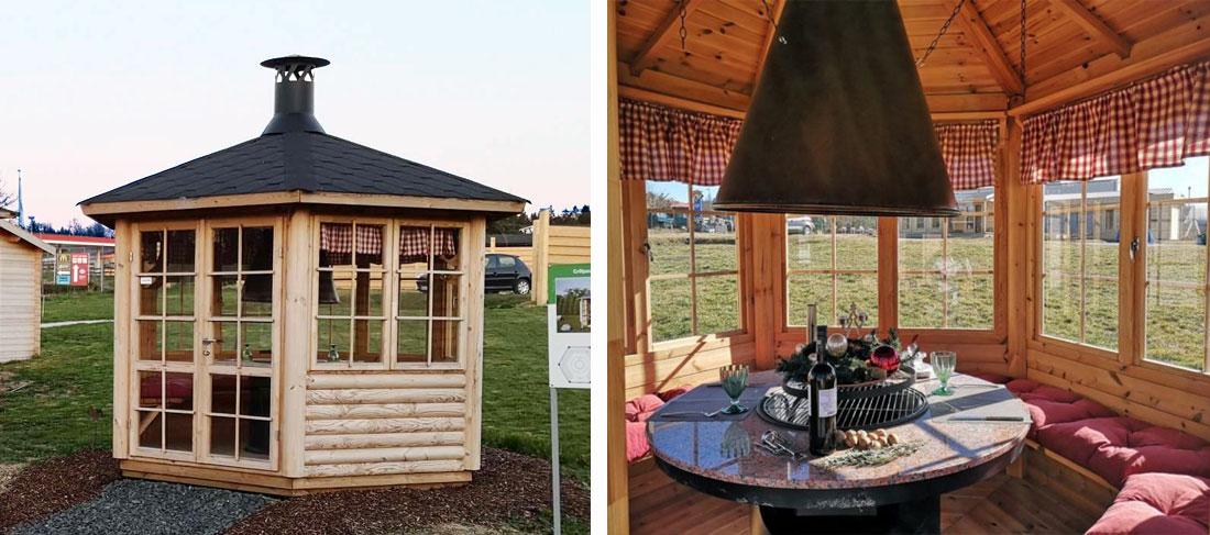 Gartenhaus-Austellung - Grillpavillon Seattle
