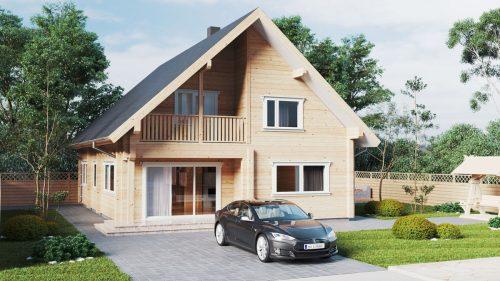 Wohnblockhaus