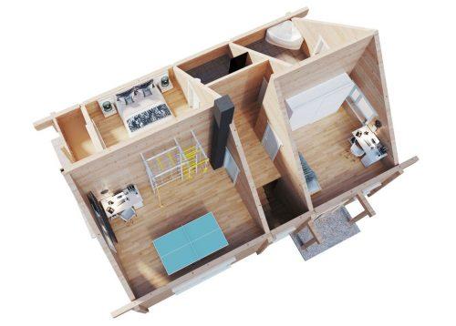 Blockhaus Hansa-170