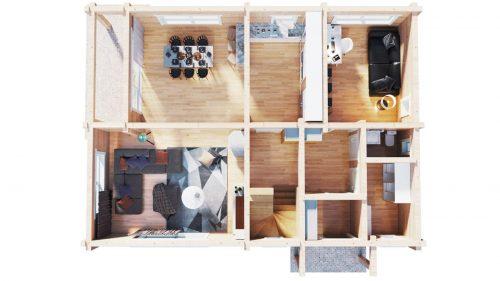 Wohnblockhaus Hansa-170