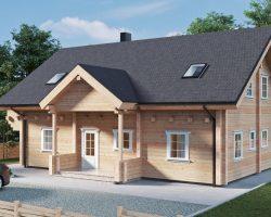 """Wohnblockhaus """"Hansa-188"""" mit vier Schlafzimmern"""