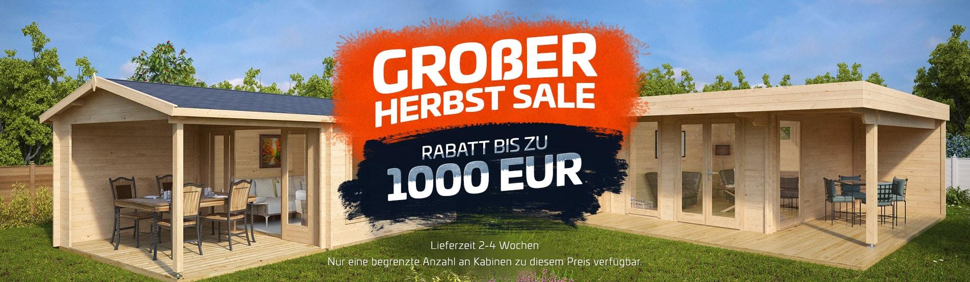 Großer Herbst Sale - Rabatt bis zu 1000 EUR