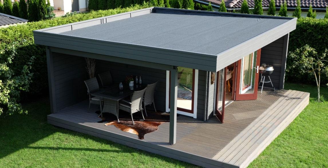 Ein Luxus Gartenhaus mit allem, was Sie wünschen