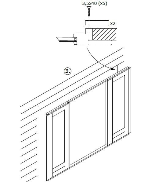 Montage-Anleitung für Schiebetüren 3
