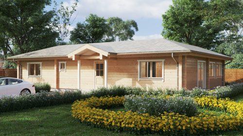 Wohnblockhaus mit drei Schlafzimmern Tania-120