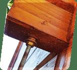Sturmleisten aus Metall und zusätzlich verstärkende Streben in den Wänden