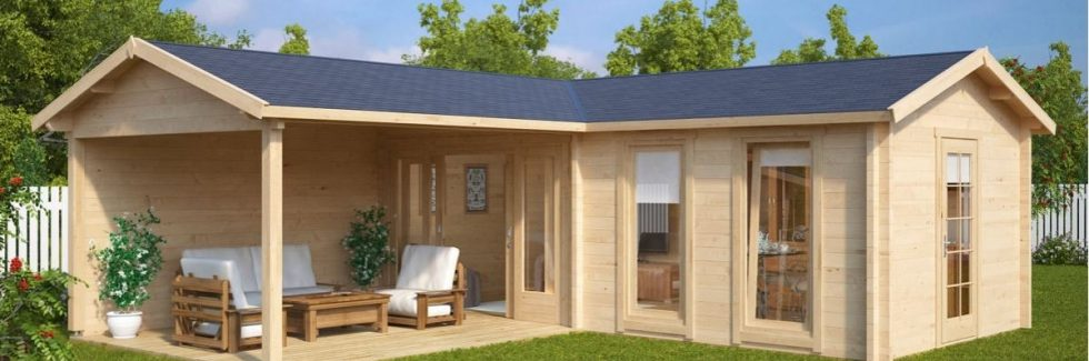 Ein Gartenhaus mit Terrasse – Snobismus oder Lebenskunst?