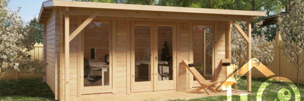 Gartenhäuser aus Holz vermieten – Tipps für kreative Gartenbesitzer