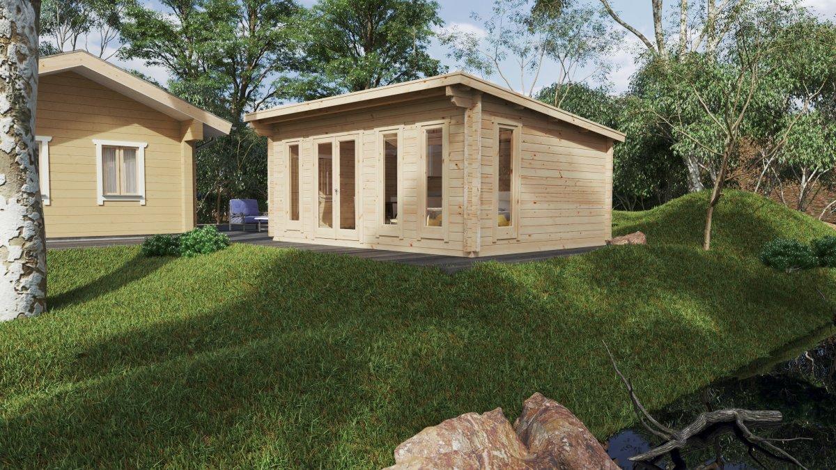 """Garten-Holzhaus """"Barbados"""""""