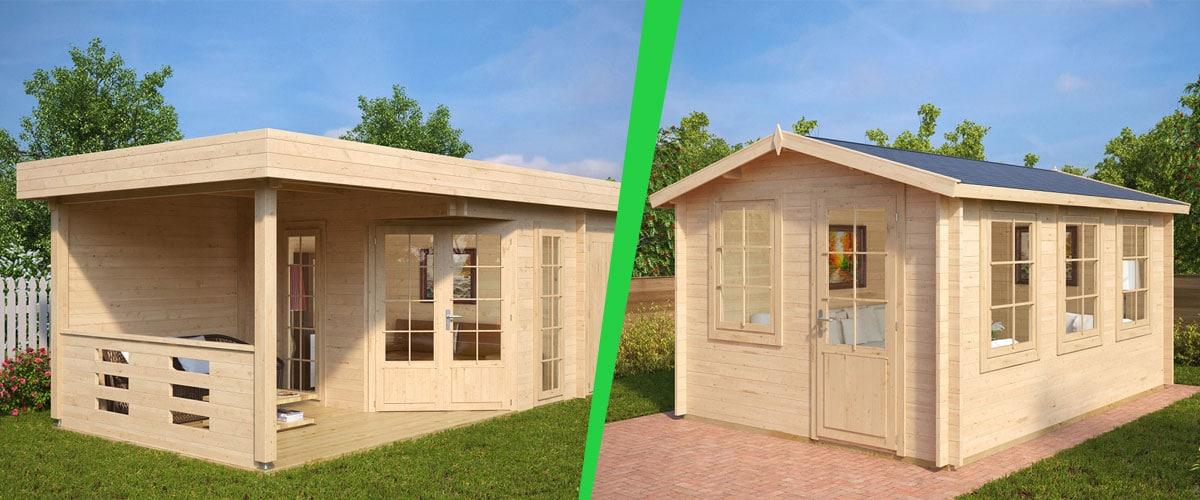 Kleines Gartenhaus – Große Wirkung