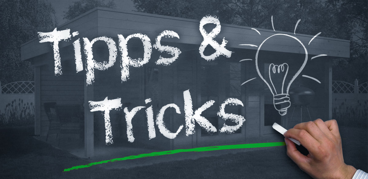 Ein Gartenhaus günstig erwerben – Tipps und Tricks