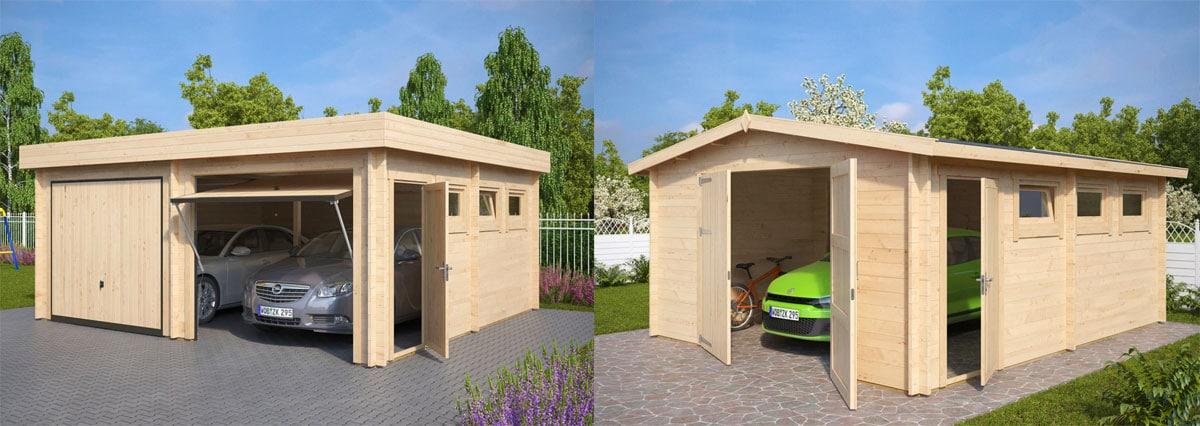 Holzgaragen als Werkstatt einrichten – Eine gute Idee?