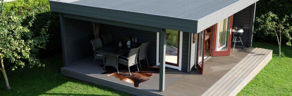 Ein Luxus-Gartenhaus für jeden Garten
