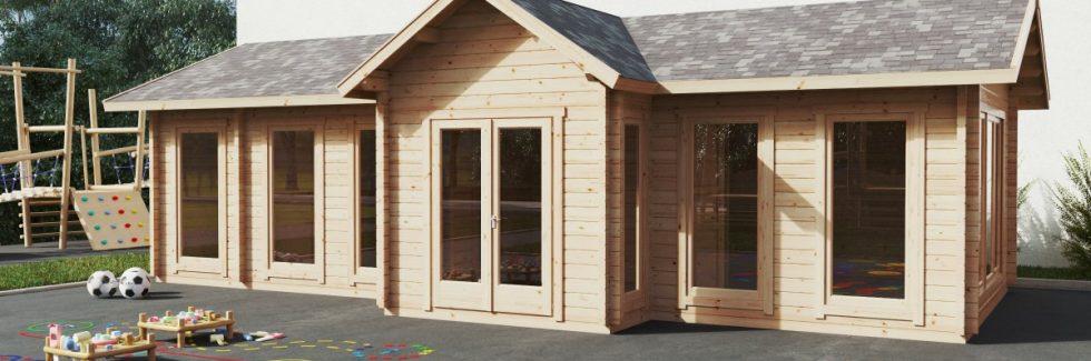 Holzhäuser – eine schnelle und einfache Möglichkeit für zusätzliche Klassenzimmer