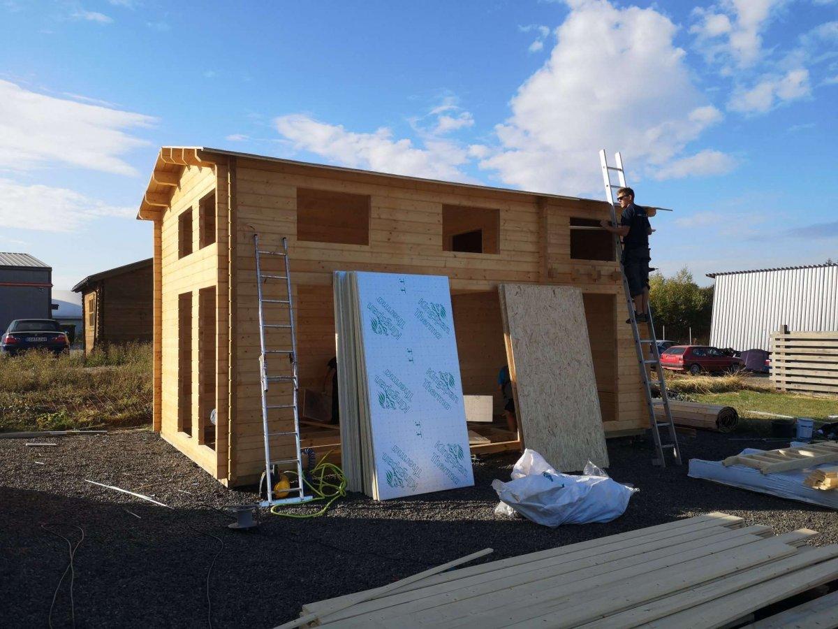 Wir erweitern uns Gartenhaus-Ausstellungsgelände in Pfalzfeld
