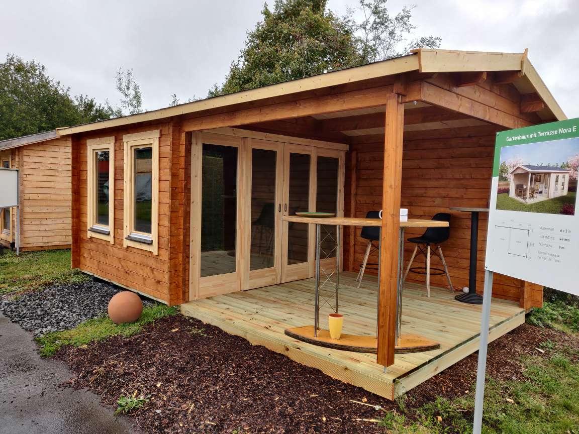 Neueste Ergänzungen auf unserem Gartenhaus-Ausstellungsgelände in Pfalzfeld