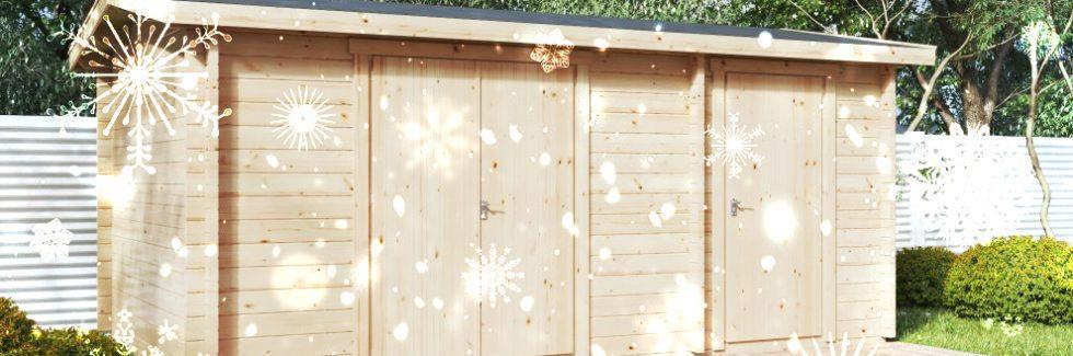 Das Gartengerätehaus fit für den Winter machen