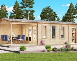 Holz Gartenhaus Super Eva E