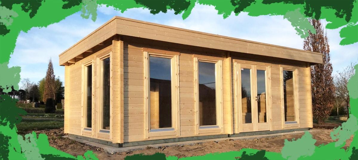 Ein Holzhaus im Garten – Nutzungsdauer 100 Jahre?