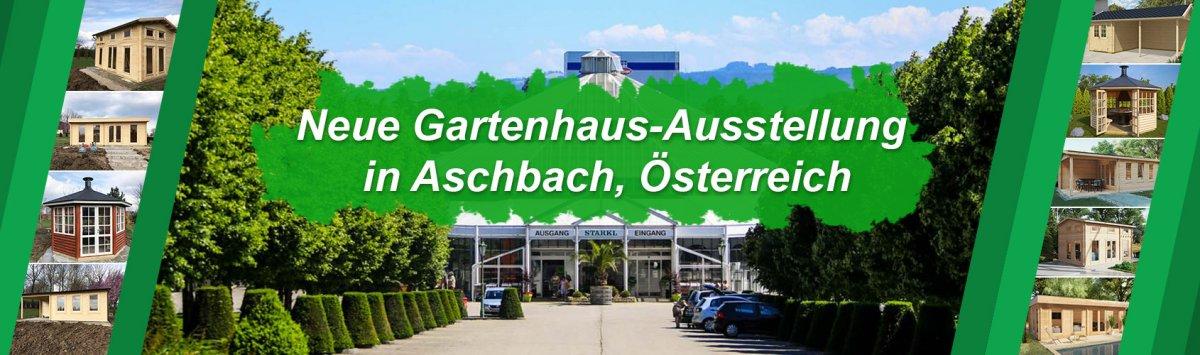 Neue Gartenhaus-Ausstellung in Aschbach, Österreich