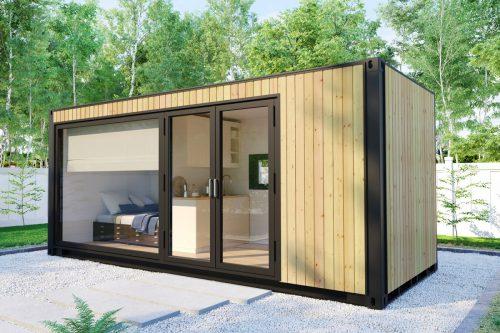 Garten Tiny Haus V2