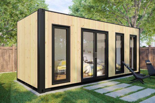 Container Gartenhaus V4
