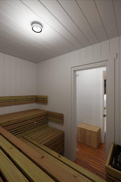 Containerhaus Saunakabine V7 sauna