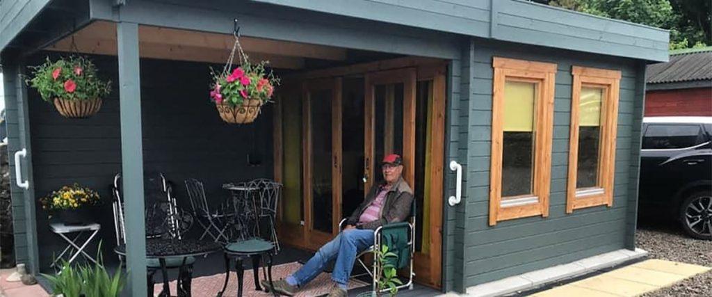 Das Gartenhaus aus Holz – Nachhaltig, praktisch