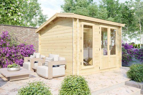 """Gartenhaus aus Holz """"Mini-Gartenbüro 1"""" DS"""