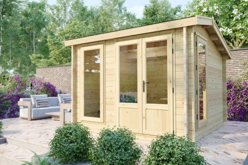 """Gartenhaus aus Holz """"Mini-Gartenbüro 1"""" DS DS"""