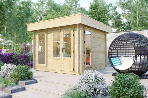 Gartenhaus aus Holz Mini-Gartenbüro 2 DS