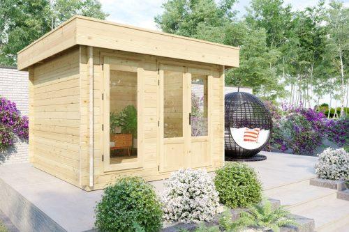 Gartenhaus aus Holz Mini-Gartenbüro 2 DS ds