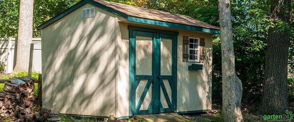 Gartengerätehaus – Welche Größe passt?