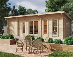 Gartenhäuser mit Schuppen or Geräteraum