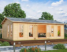 Gartenhäuser und Holzhäuser